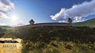 Rekonstruált Réka-vár